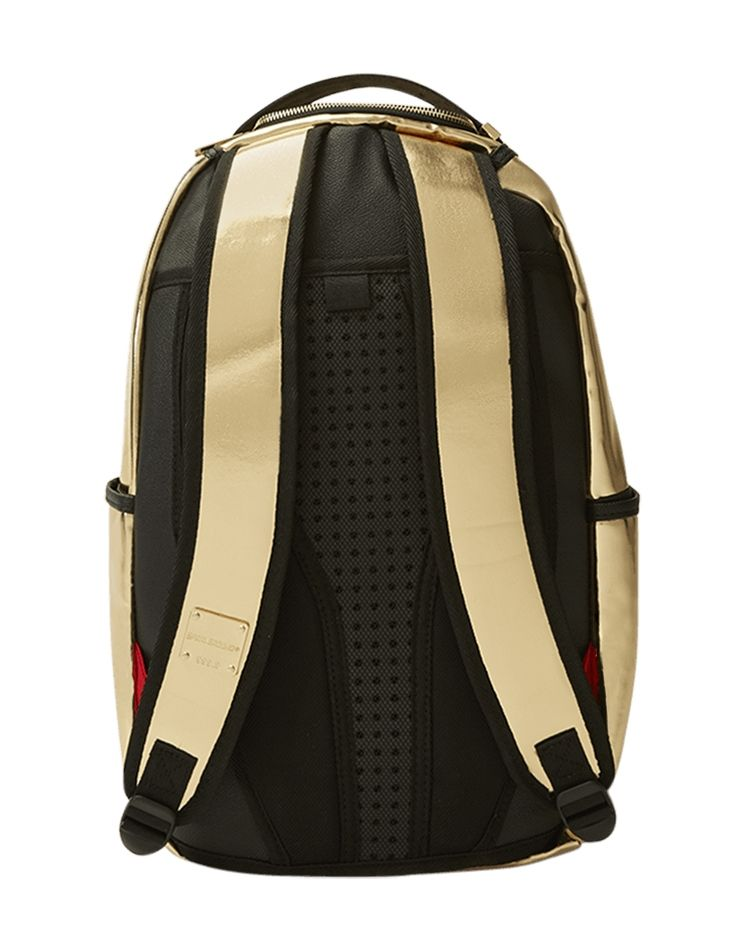 bcb13a3aed60 Type Backpacks Sprayground Gold Brick Backpack