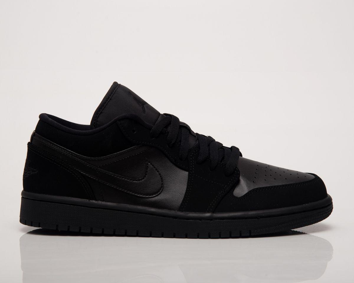 top design new arrive more photos Кецове Air Jordan 1 Low Triple Black