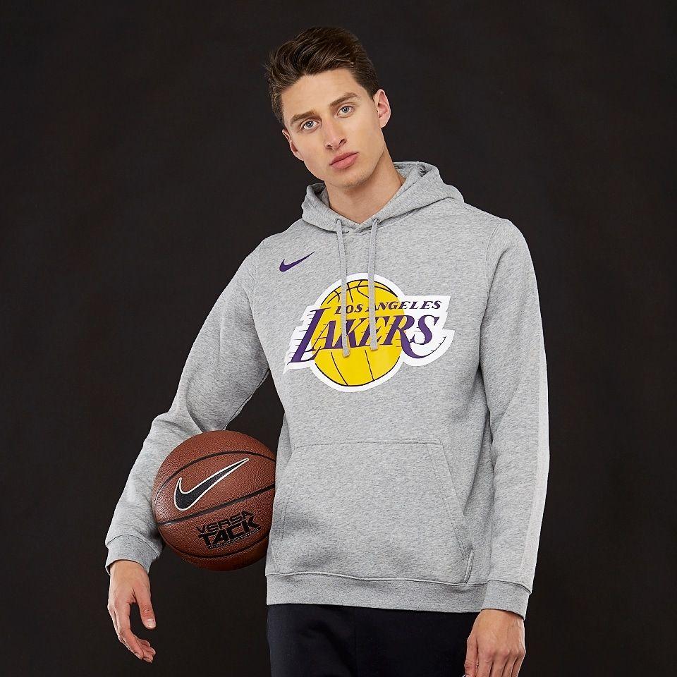 pretty nice 30f9c 49b63 Type Hoodies Nike NBA Los Angeles Lakers Logo Hoodie