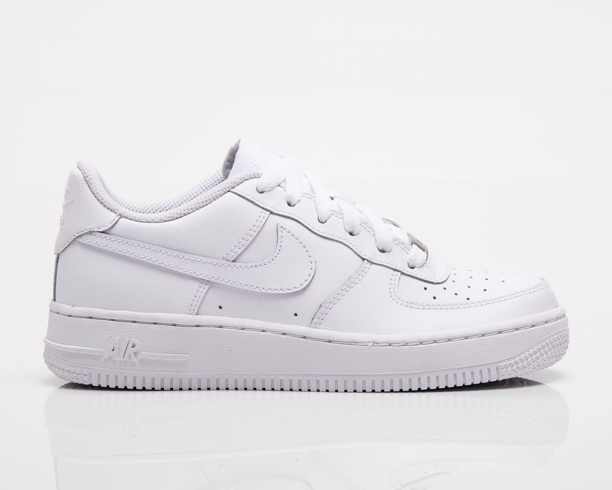 Nike Air Force 1 Low GS Type Casual Nike Air Force 1 Low GS All White
