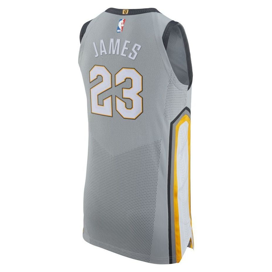 pretty nice 38325 d5efd Type Shirts Nike NBA Cleveland Cavaliers LeBron James City Edition  Authentic Jersey