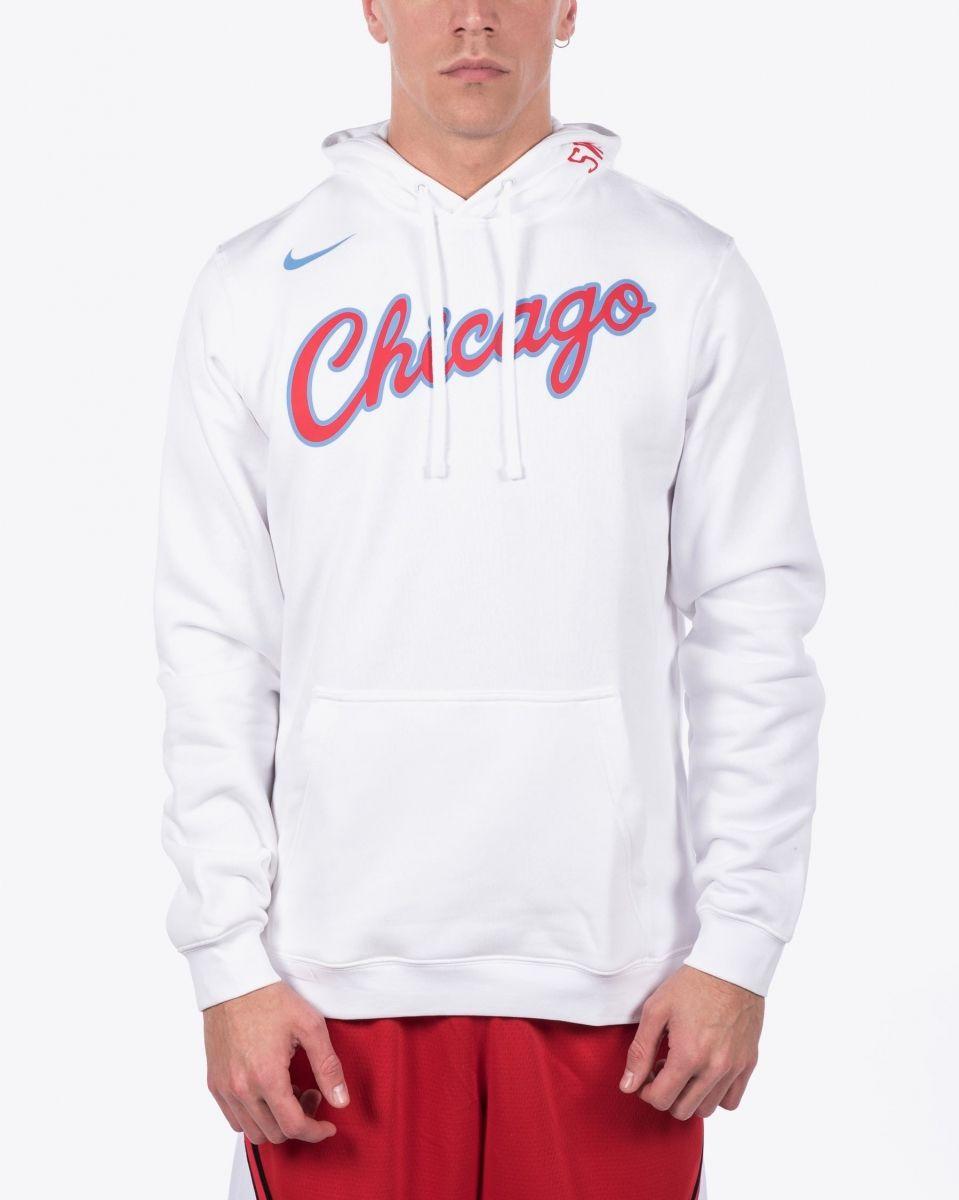 promo code a07c8 bcc01 Type Hoodies Nike NBA Chicago Bulls City Edition Hoodie