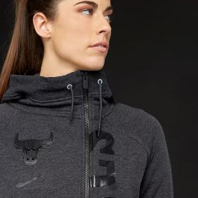 Суичър Nike WMNS NBA Chicago Bulls Modern Cape Hoodie