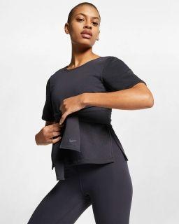 Тениска Nike Wmns Studio Yoga Training Top