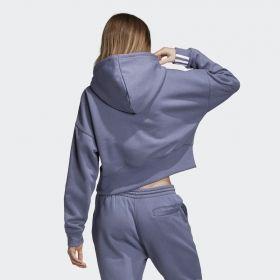 Суичър adidas Originals Wmns Coeeze Cropped Hoodie