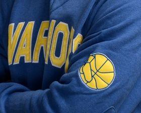 Суичър Mitchell & Ness NBA Golden State Warriors Training Room Crewneck