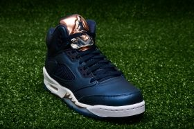 Кецове Air Jordan 5 Retro BG Bronze