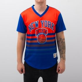 Type Shirts Mitchell & Ness NBA New York Knicks Game Winning Shot Mesh V-Neck T-Shirt