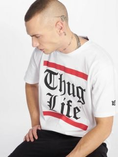 Мъжка тениска Thug Life / T-Shirt B.Gothic in white