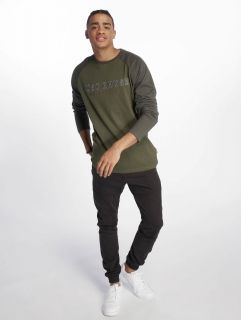 Just Rhyse / Longsleeve Tiquina in olive