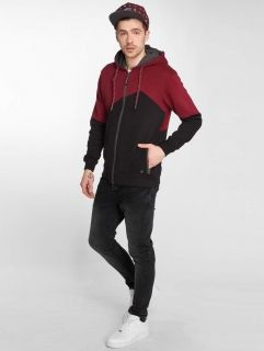 Just Rhyse / Zip Hoodie Palo Verde in red