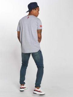 Мъжка тениска Who Shot Ya? / T-Shirt WHSHTY in grey