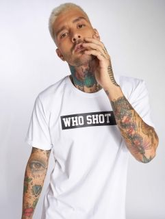 Who Shot Ya? / T-Shirt Fresh W in white