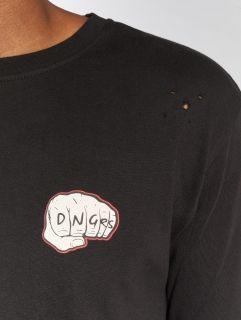 Dangerous DNGRS / Longsleeve LosMuertos in black