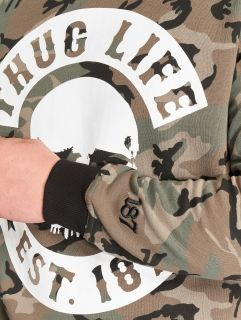 Thug Life / Jumper B.Camo in camouflage