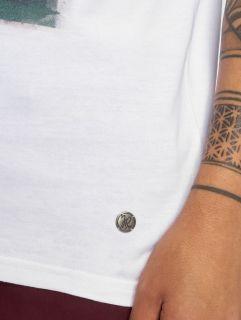 Мъжка тениска Just Rhyse / T-Shirt Punta sal in white
