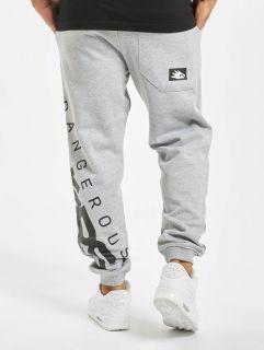 Dangerous DNGRS / Sweat Pant Edwards in grey
