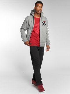 Мъжки суичър Rocawear / Zip Hoodie Stripe in grey