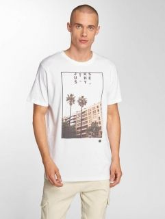Мъжка тениска Just Rhyse / T-Shirt Paita in white