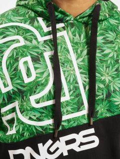 Dangerous DNGRS / Hoodie Greenline in green