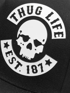 Thug Life / Snapback Cap Young in black