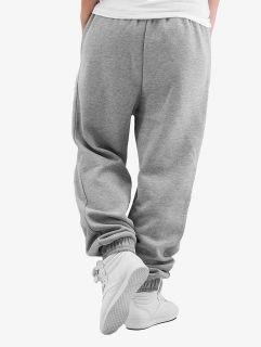 Dangerous DNGRS / Sweat Pant Soft Dream Leila Ladys Logo in grey
