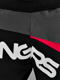 Dangerous DNGRS / Sweat Pant Race City in black