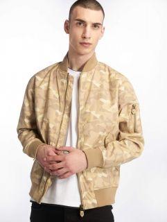 Cyprime / Bomber jacket Bomberjacket Obsidian in beige