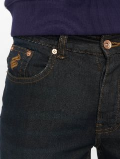 Rocawear / Straight Fit Jeans TUE Relax Fit in blue