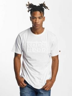 Rocawear / T-Shirt Embossing in white
