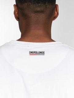 Dangerous DNGRS / T-Shirt Twoblck in white