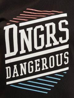 Dangerous DNGRS / T-Shirt Tackle in black