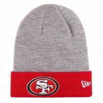 Зимна шапка New Era Cuff Badge San Francisco 49ers