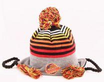 Зимна шапка New Era Stripe Top Vancouver Canucks
