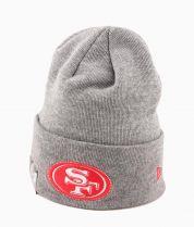 Зимна шапка New Era Wide Grey San Francisco 49-ers