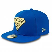 Шапка New Era 59Fifty Superman Gold