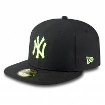 Шапка New Era 59Fifty  MLB Diamond Era Neon NY Yankees Cyber Green