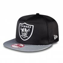 Шапка New Era NFL Satin Oakland Raiders 9FIFTY A-Frame Snapback
