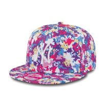 cecc2cf4195 Шапка New Era Digi Fleur NY Yankees Womens 9FIFTY Snapback
