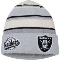 Зимна шапка New Era Winter Tradition Oakland Raiders