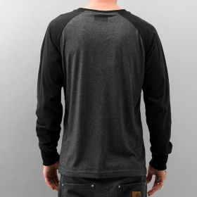 Just Rhyse 2 Tone Longsleeve Anthracite Melange/Black