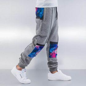 Just Rhyse Galaxy Sweat Pants Grey Melange