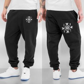 Just Rhyse Assisi Sweat Pants Black