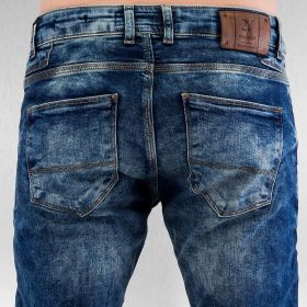 2Y Used Jeans Blue