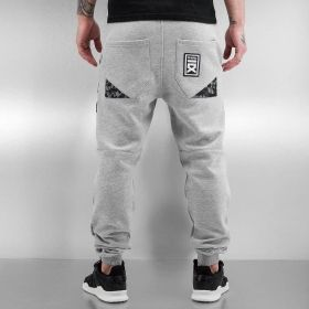 Dangerous DNGRS / Sweat Pant Warrior in grey