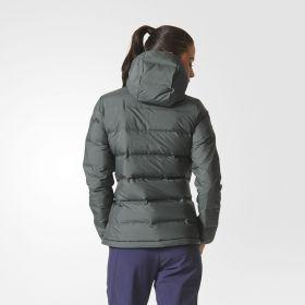 Яке adidas WMNS Helionic Down Hooded Jacket