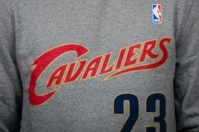 Суичър Mitchell & Ness NBA Cleveland Cavaliers Name And Number Crewneck Sweatshirt