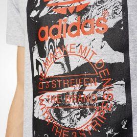 Тениска adidas Originals Tongue Label Marble Tee