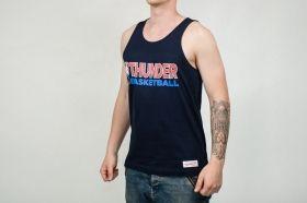 Тениска Mitchell & Ness NBA Oklahoma City Thunder Team Issue Tank Top