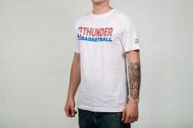 Тениска Mitchell & Ness NBA Oklahoma City Thunder Team Issue Traditional Tee